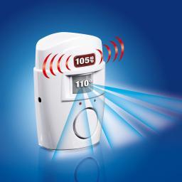 EASYmaxx Bewegungsmelder + Alarmsignal, 2er-Set