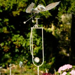 Gartenstecker Vogel Swing