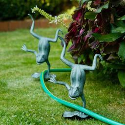 Gartenstecker Frosch Felix