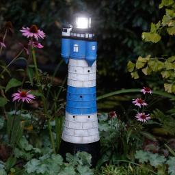 Solar-Leuchtturm Juist