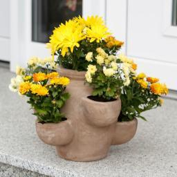 Terracotta-Kräutertopf Romano, klein