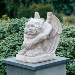 Terracotta-Figur Gargoyle Goliath