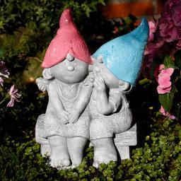 Gartenzwerge Emilie & Emil
