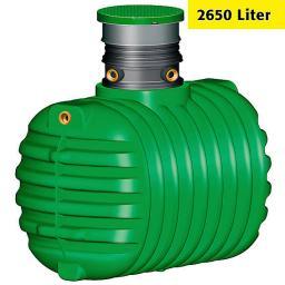 GARANTIA Erdtank Cristall Komplettpaket 2650 Liter