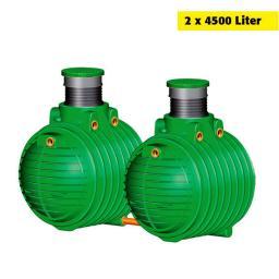 Erdtank Columbus Komplettpaket 9000 Liter