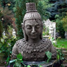 Kleiner Buddha Kopf