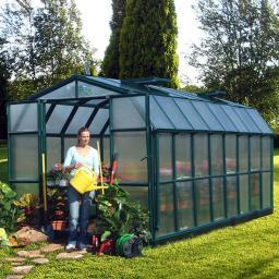 Gewächshaus Grand Gardener 48 mit Fundamentrahmen