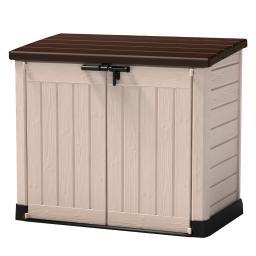 Aufbewahrungsbox Allrounder, inkl. Bodenplatte, Wetter und UV-stabil, ca. 146 x 82 x 125 cm