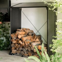 Firewood Shelter Kaminholzregal