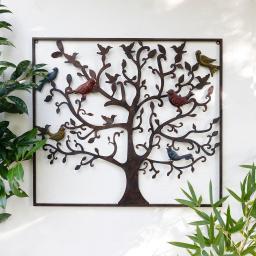 Wandbild Gartenmärchen