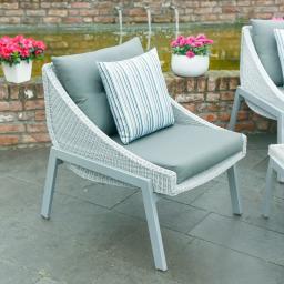 Outdoor-Rattan-Sessel Sommerurlaub