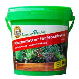Pflanzenfutter für Hochbeete, 1 kg