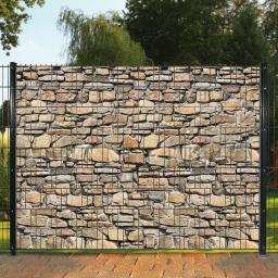 Sichtschutzstreifen Motiv Mauer