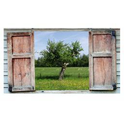 Gartengemälde Apfelweide 79 x 59 cm