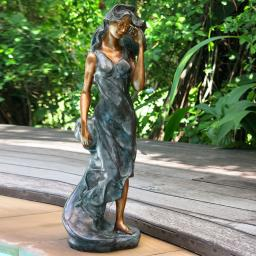 Bronzefigur Diva