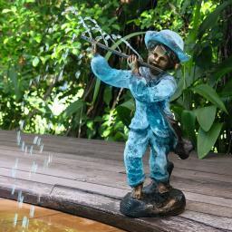 Bronzefigur Flöten-Philip