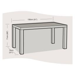 Schutzhülle für Tisch klein, eckig