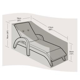 Schutzhülle für Sonnenliege oder Deckchair