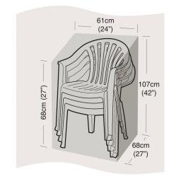 Schutzhülle für stapelbare Stühle