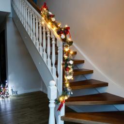 LED-Tannengirlande Feliz Navidad