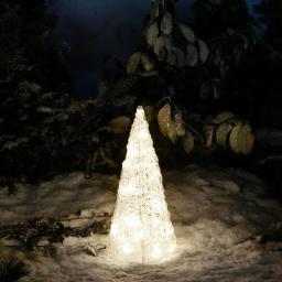 LED-Leucht-Pyramide Starlight, 24 LEDs