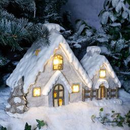 Winterhaus, groß