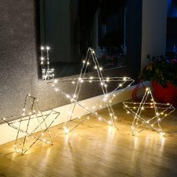 LED-Standleuchte Stern, groß