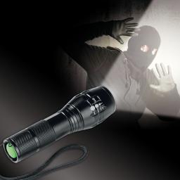 EASYmaxx Security Power Funktionstaschenlampe