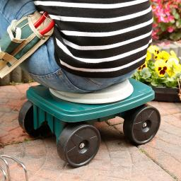 Garten Rollstitz mit Drehfunktion