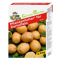Gärtner Pötschke Pflanzenfutter für Kartoffeln, 2,5 kg