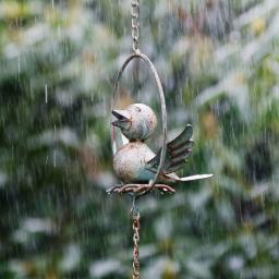 Regenkette Vogeldusche