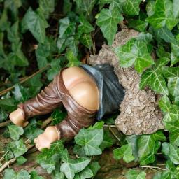 Gartenfigur Buddel-Gnom Wühlfix