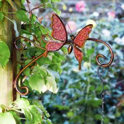 Pflanzgefäß-Halterung Schmetterling