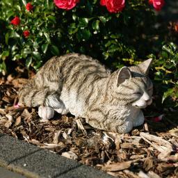 Gartenfigur Kätzchen Schnurri