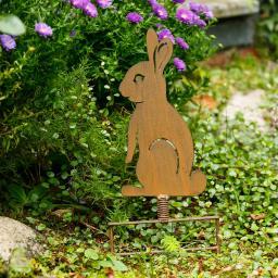 Gartenstecker Hoppel-Hase