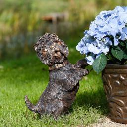 Deko-Hund Strubbelchen