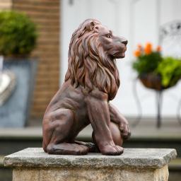 Gartenfigur King Leo