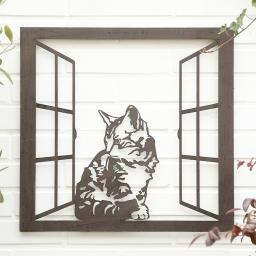 Wandbild Katze Flauschi
