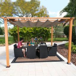 Pavillon Florida 11x11, 235x350x350 cm