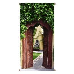 Gartenbanner Torbogen 170 x 85 cm