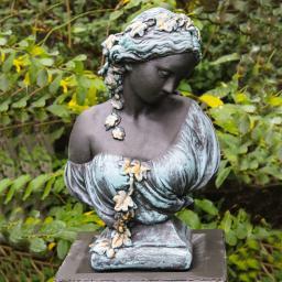 Büste Kate bronziert