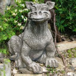 Gartenfigur Drache Artus