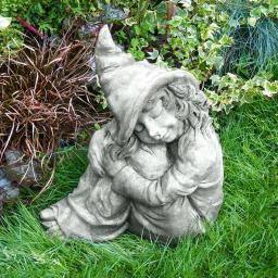 Gartenfigur Fee Hazel