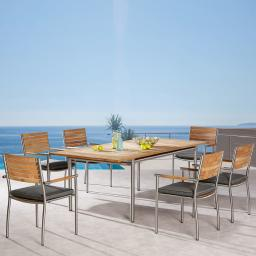 Dining Set Murano, 4 Personen