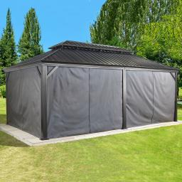 Vorhang-Set Pavillon Messina 12x20