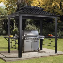 BBQ Pavillon Messina 6x8, 179x292x262 cm