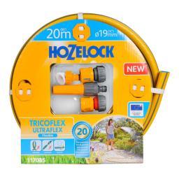 Hozelock Gartenschlauch Tricoflex Ultraflex, 20 m Länge, 19 mm Durchmesser