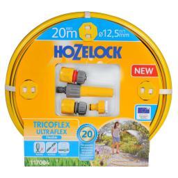 Hozelock Gartenschlauch Tricoflex Ultraflex, 20 m Länge, 12,5 mm Durchmesser