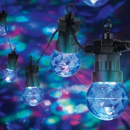 LED-Lichterkette Sputnik