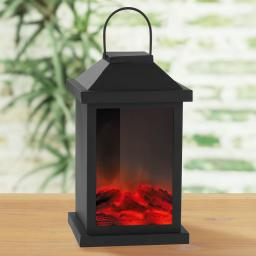LED-Laterne Flamme, 23cm